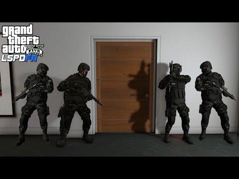 GTA 5 - SWAT Team ARRESTS Trevor Philips! LSPDFR Let's Be Cops Mod SWAT Patrol Episode #204