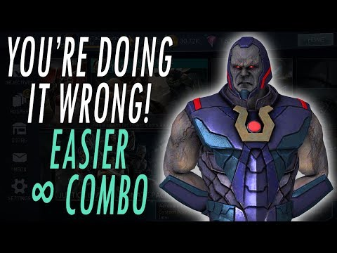 *NEW* INFINITE HIT COMBO! ALL CHARACTERS! HOW TO DO INFINITE HIT GLITCH IN RAIDS! INJUSTICE 2 MOBILE