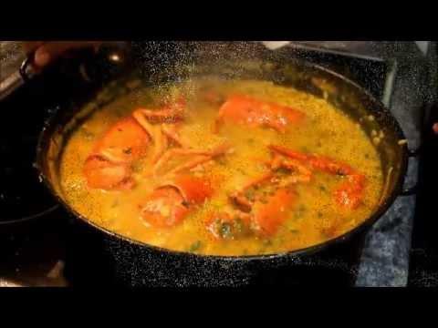 como hacer arroz meloso con bogavante