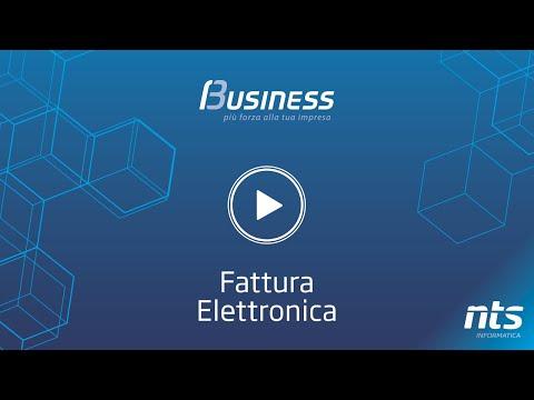 Business Cube - Fattura Elettronica - NTS Informatica
