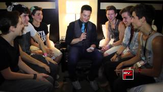 o2l interview fan questions at vidcon