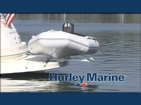 Hurley Marine Dinghy Davits Youtube