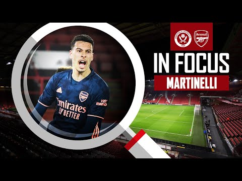 EVERY TOUCH | Gabriel Martinelli | Sheffield United vs Arsenal (0-3) | Premier League