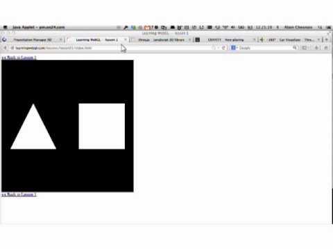 """""""3D on the Web — Introduction to WebGL,"""" Alain Chesnais"""