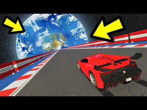 GTA 5 - The BIGGEST Mega Ramp EVER!! (from space)