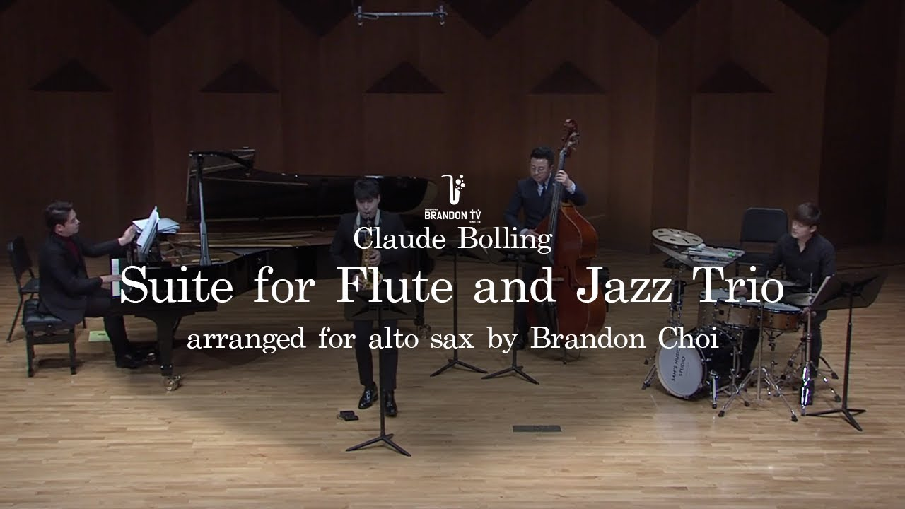 Claude Bolling:  Suite for Flute and Jazz Trio -Baroque and Blue