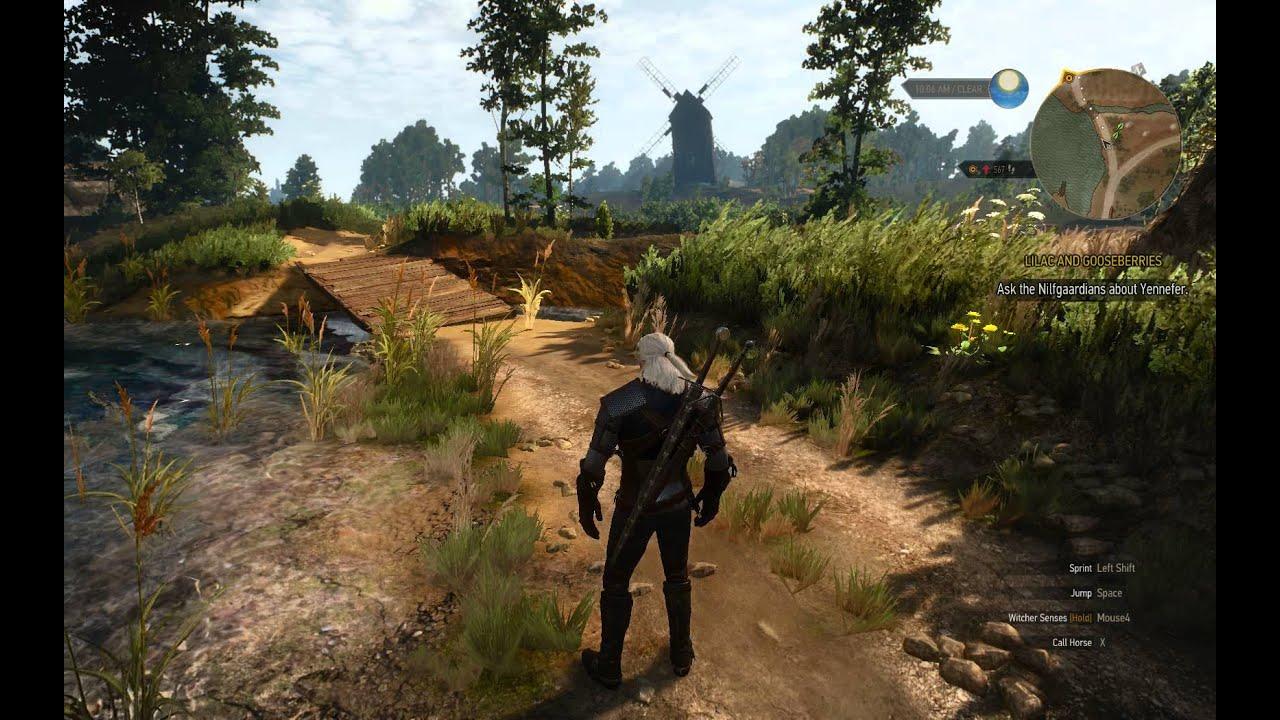Witcher 3 - *Fullscreen vs Borderless Window 1680x1050