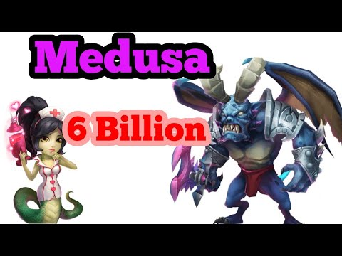 Medusa | 6 BILLION Score | Archdemon | Free 2 Play Setup | Castle Clash