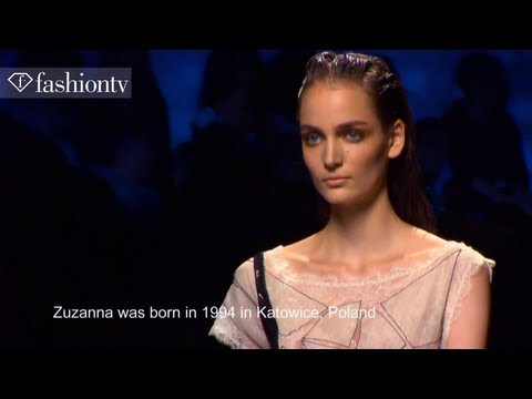 Model Talks - Zuzanna Bijoch | Spring/Summer 2013 Fashion Week| FashionTV