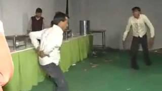 Funny Dance in village.FLV