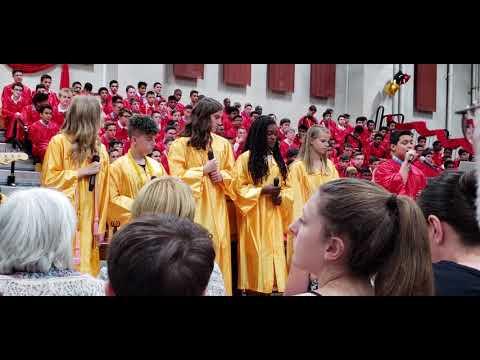 Mt. Olive Middle school class of 2018 graduation
