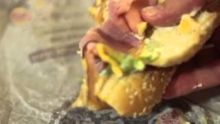 Yumbo Hot Ham & Cheese Sandwich from Burger King