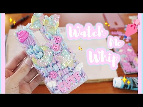 ♡ Watch Me Whip! ✨ Kawaii D.I.Y Decoden Case
