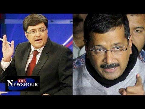 CBI Raided Delhi CM Arvind Kejriwal's Office : The Newshour Debate (15th Dec 2015)