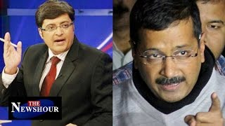 CBI Raided Delhi CM Arvind Kejriwal's Office : The Newshour Debate (15th Dec 2015)