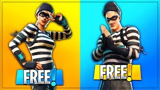 "NEW ""Scoundrel & Rapscallion"" SKIN in Fortnite For FREE! - NEW Fortnite Skins Showcase!!"