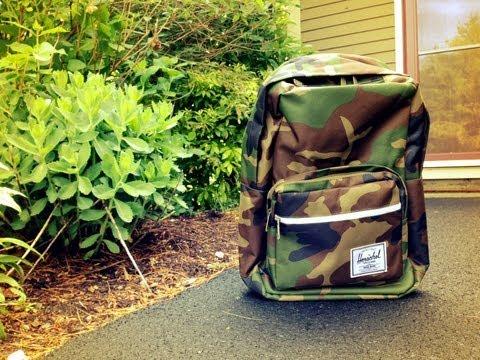 Herschel Supply Co. Camo Backpack Pop Quiz Review