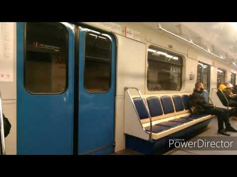 Я в метро Москвы часть 2