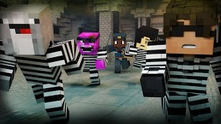 Minecraft Mini-Game: COPS N ROBBERS! (TOTAL LOSS OF CONTROL!) /w Facecam