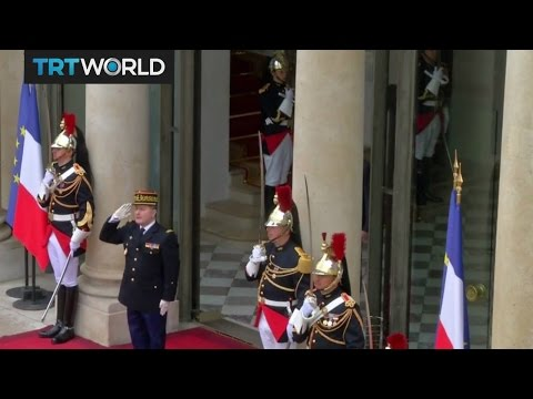 New French President: Emmanuel Macron's inauguration underway