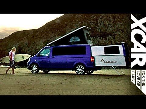 Vw Camper Uitschuifbaar.Vw Doubleback Epic Roadtrip Featuring Surfing Sheep Xcar