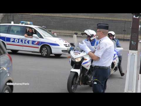 Police : Transport De Prisonniers Dans Paris//Police: Prisoners Of Transport In Paris.