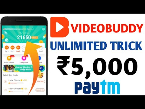 #No Root | Videobuddy App Unlimited Trick | Earn Daily Rs.5000 | 100% Working Trick