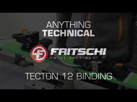 The New Fritschi Tecton 12 Ski Touring Binding!