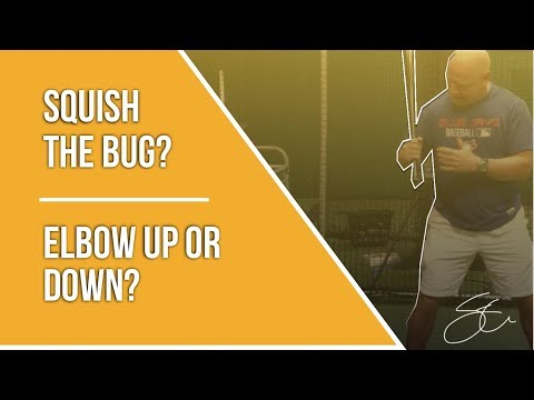 Squish the bug or not? Elbow up or down?