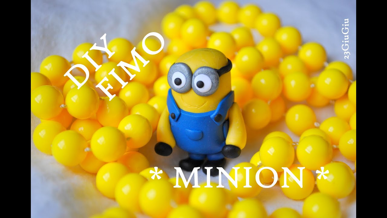 tuto fimo le minion youtube. Black Bedroom Furniture Sets. Home Design Ideas