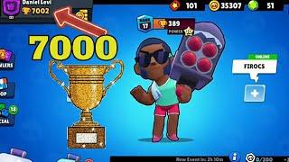 בראול סטארס עולה ל-7000 גביעים 🏆🏆🏆
