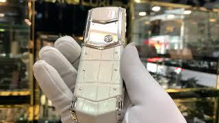 VERTU SIGNATURE S PURE WHITE MIX DIAMOND