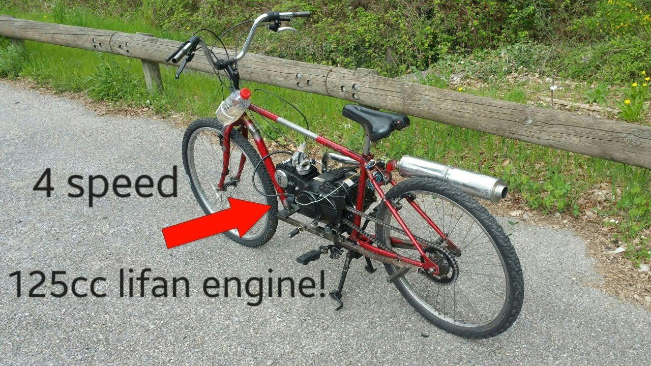 125cc lifan bicycle! ֎