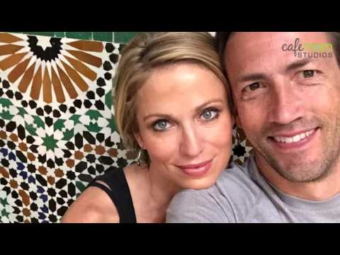 Amy Robach and Andrew Shue on her book,