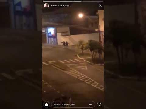 Roubo a banco do Brasil em Passos Minas Gerais tiroteio nas ruas