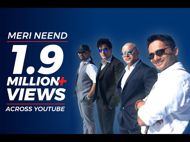 Meri Neend | A Band OF Boys | The Official Video Song