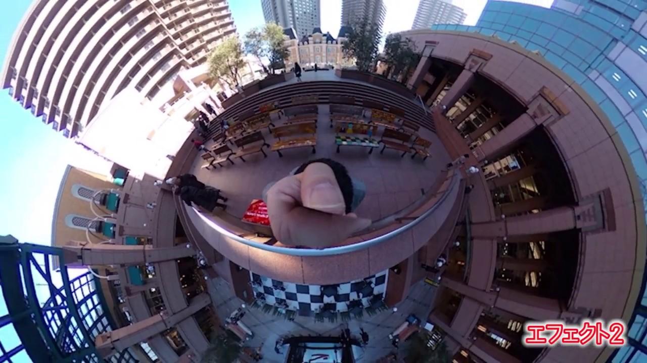 360度カメラ撮影テスト06