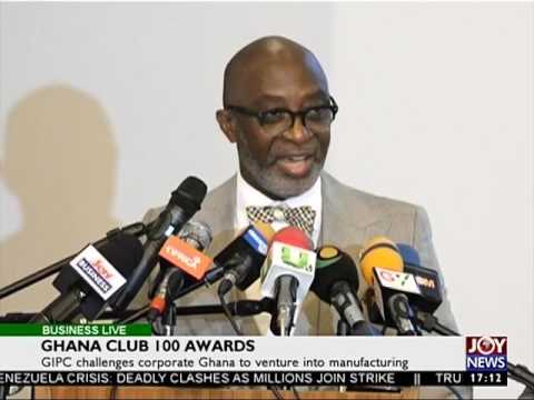 Ghana Club 100 Awards - Business Live on JoyNews (21-7-17)