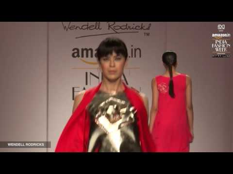 Wendell Rodricks Cubist Rose Collection for Amazon India Fashion Week, Autumn/Winter 2017
