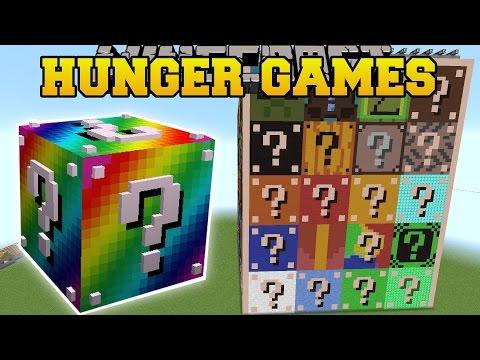 Minecraft: LUCKY BLOCK HUNGER GAMES - Lucky Block Mod - Modded Mini-Game