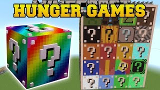Minecraft: LUCKY BLOCK HUNGER GAMES - Lucky Block Mod - Modded Mini-Game