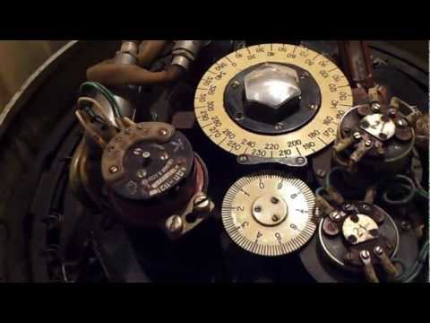 Russian Marine Gyrocompass.-After repair and maintenance..