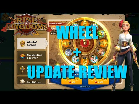 Universal Wheel Of Fortune And NEW Update Review - A Lot Of News In Next Update - Rise Of Kingdoms