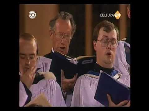 ♫ Choir of St Paul's Cathedral: Wesley, Blessed be the God and Father ♪