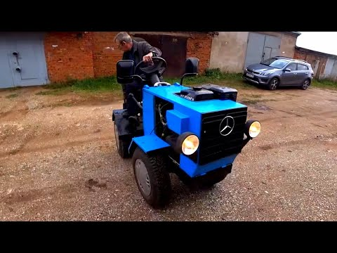 Трактор переломка своими руками видео