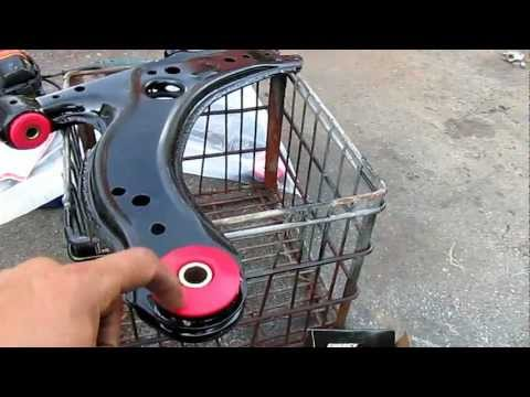 HOW TO: Installing VW Polyurethane Lower Control Arm Bushings without a Press