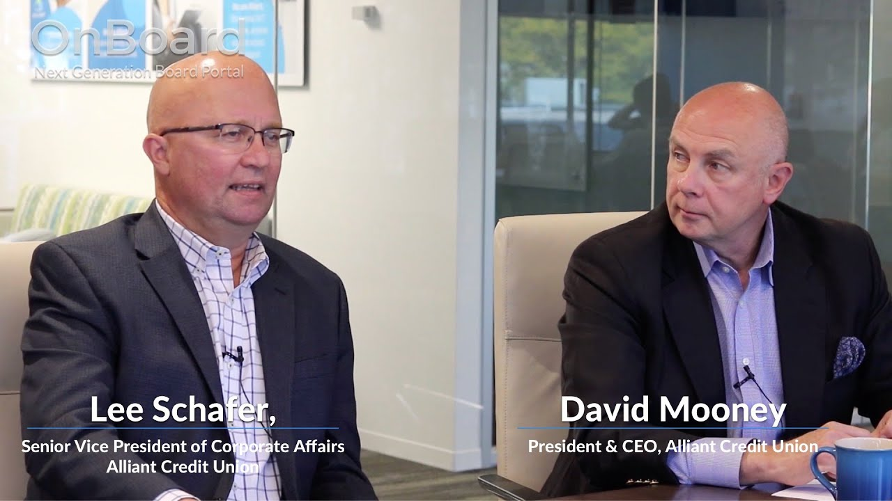 Alliant Credit Union Leverages OnBoard To Improve Governance