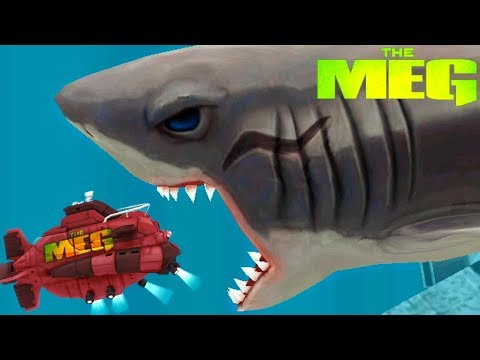 The MEG - New Update, New Megalodon In Game!    Hungry Shark Evolution [FHD-1080p]