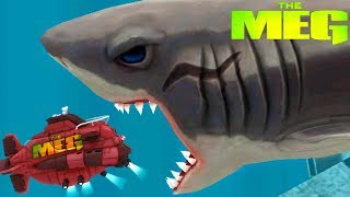 The MEG - New Update, New Megalodon In Game! || Hungry Shark Evolution [FHD-1080p]