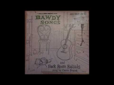 Oscar Brand ‎– Bawdy Songs And Backroom Ballads  1955